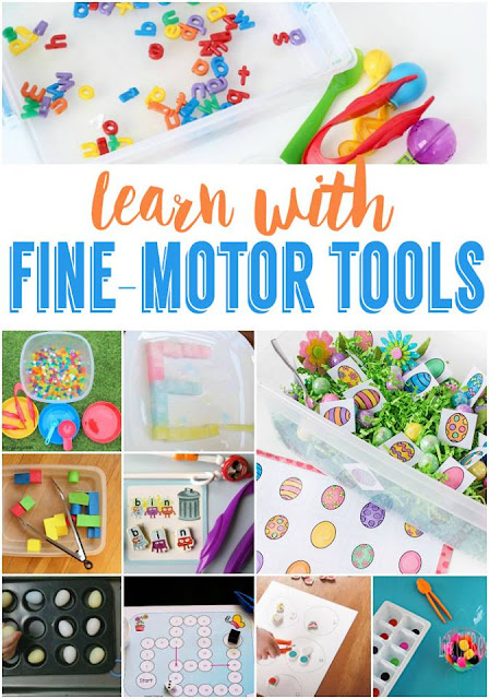 Learning with fine motor tools