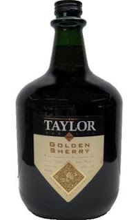 bottle of taylors golden sherry, this is what we have in the rooms for our guests.