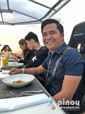 Dinner in the Sky Philippines Solaire Manila Price Food Experience Photos