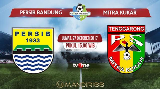 Prediksi Bola : Persib Bandung Vs Mitra Kukar , Jumat 27 Oktober 2017 Pukul 15.00 WIB @ TVONE