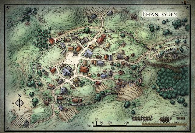 Orcs preparing to Invade Phandalin