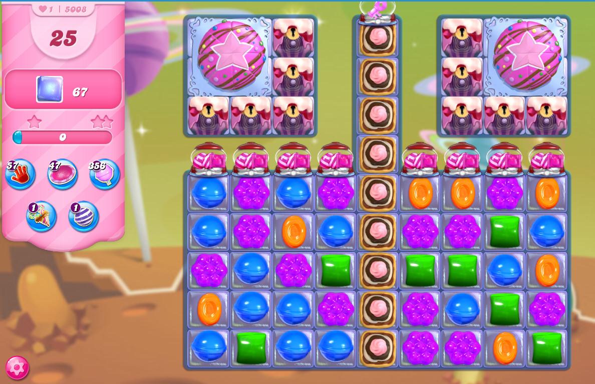Candy Crush Saga level 5008