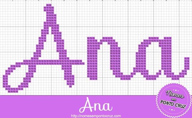 Nome Ana em Ponto Cruz