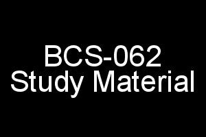 BCS-062 (E-Commerce) Study Material For IGNOU BCA 6th Semester
