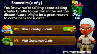 fv2ce, female zoo assistant, country biscuits, glade