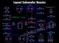 PCB Layout subwoofer booster 4558 tl072