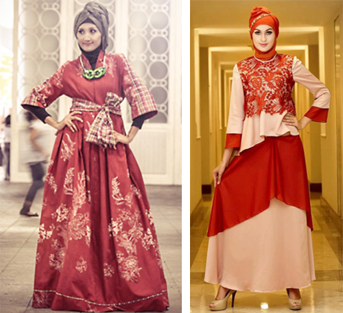 baju hijab modern untuk pesta