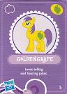 MLP Wave 3 Goldengrape Blind Bag Card
