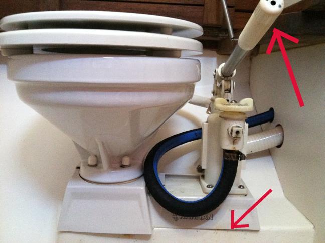 The Third Quarter Fixing a Marine Toilet part I