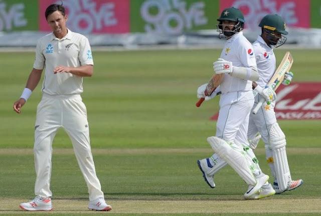 After Azhar, New Zealand faced a tough fight, Shafiq Hits Hundreds