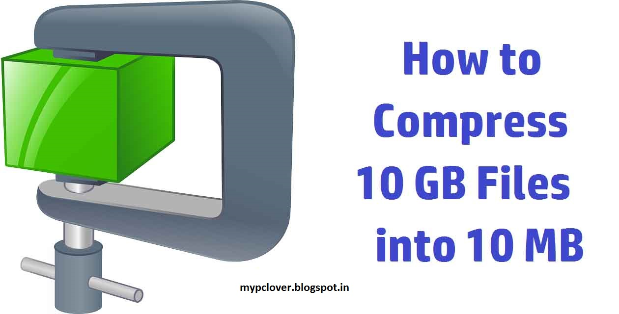 Compress 1 GB File into 10 MB Using KGB Archiver - naveen