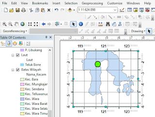 cara membuat skala grid di inset