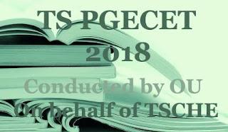 Telangana PGECET 2018: Notification, Exam dates, Online Application , Eligibility, Fee, Registration