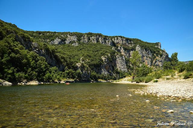 L'Ardèche en canoë
