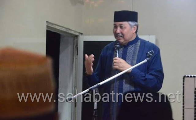 Safari Ramadhan, Bupati Pinrang Siapkan Kenaikan Honor Pegawai Sara' Masjid 100%