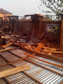 Fire Razzles Shops in Presco Campus Abakaliki, Ebonyi State