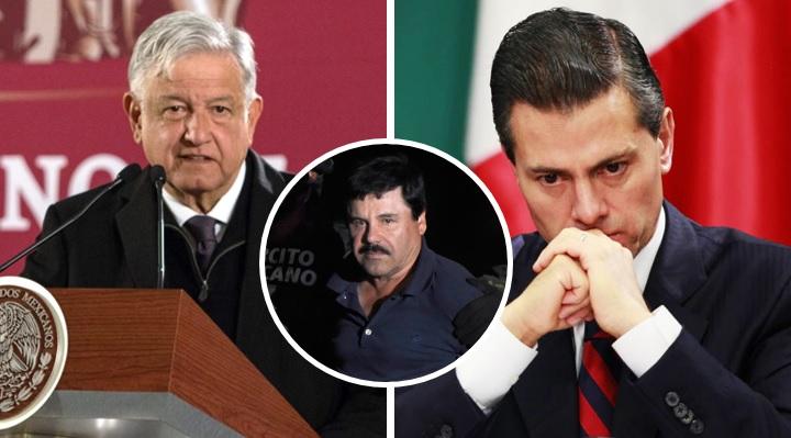 ¿Peña Nieto ordenó a El Chapo atentado contra AMLO para frenar extradición