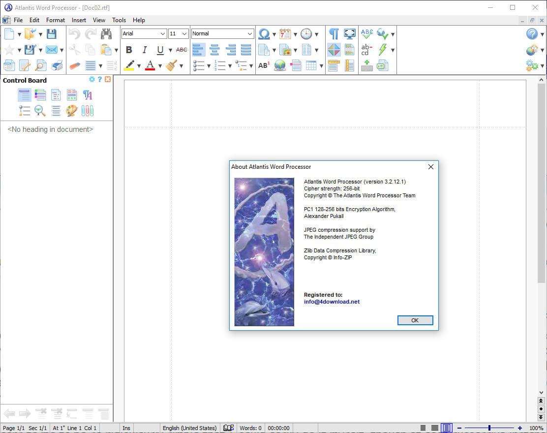 Atlantis Word Processor v3.2 Full version