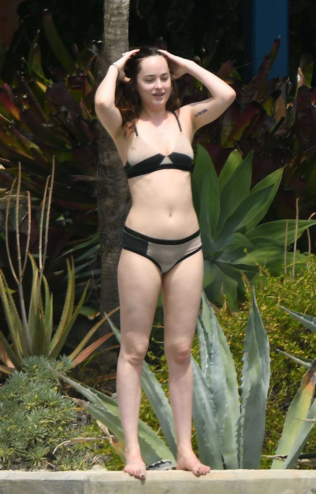 Dakota Johnson En Bikini Disfrutando Del Sol En Miami Beach Hot