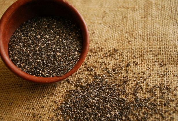 Consume semillas de chia