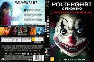 Filme Poltergeist - O Fenômeno (2015) DVD Capa