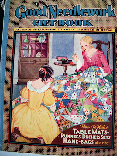 Vintage 30s Good Needlework Gift Book