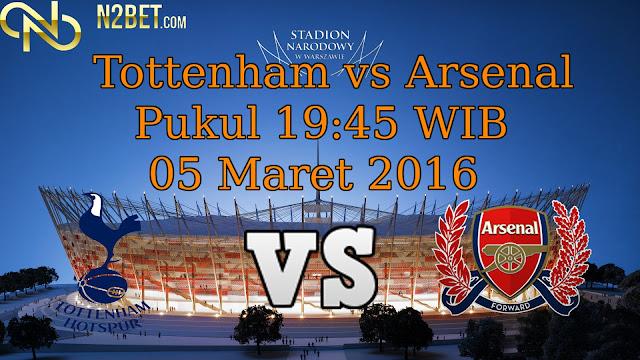 PREDIKSI BOLA EURO 05 Maret 2016 - Tottenham vs Arsenal