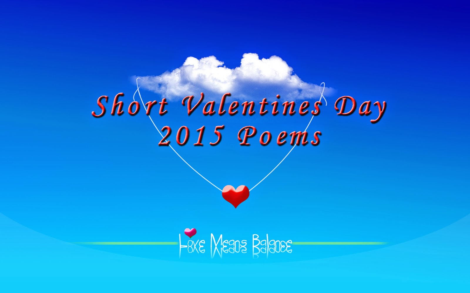 Short Love Poems For Him & Her