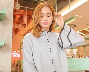 Angel Lisandi Putri pemeran Vanya / Fanya di Fatih di Kampung Jawara