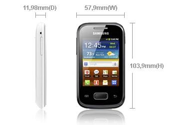 Spesifikasi dan Harga Samsung Galaxy Pocket