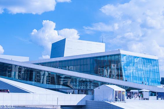 Opera de Oslo. Noruega