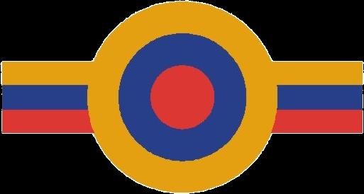 VENEZUELA ESCARAPELA DE MOLDE Y PINTURA 1953 nacional ceo dir 119 cucarda insignia