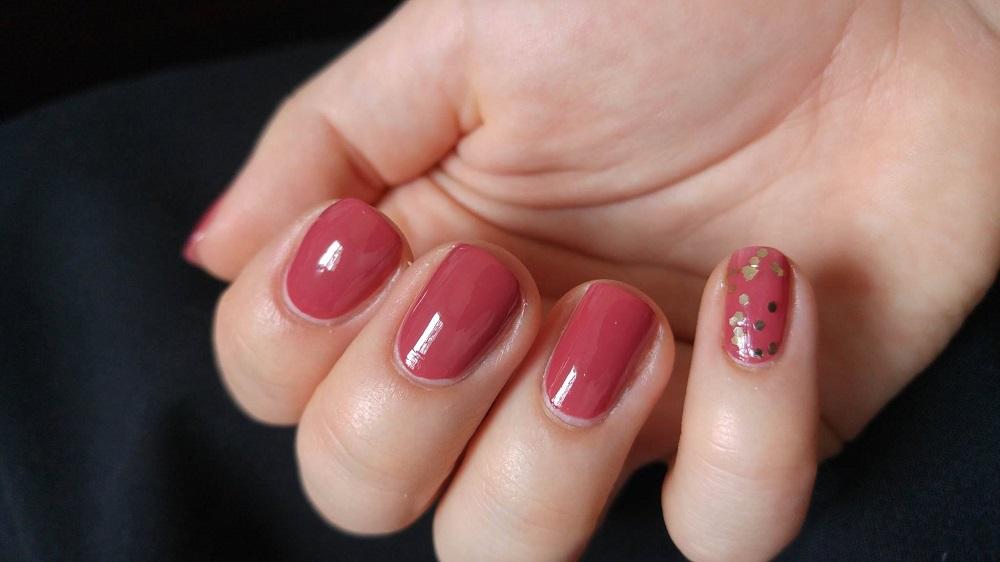 Cien Nail Polish - Vintage Mauve Nail polish nail lacquer swatch swatches