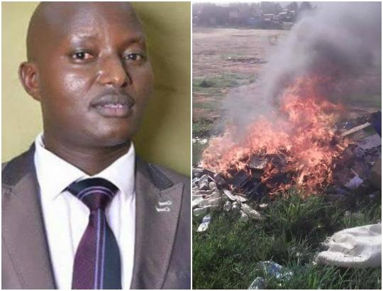 Ugandan pastor burns church members Bibles, says it's misleading them (Photos)