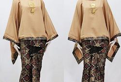 Model Baju Batik Atasan Dan Bawahan Terbaru Remaja 2019 Atasan