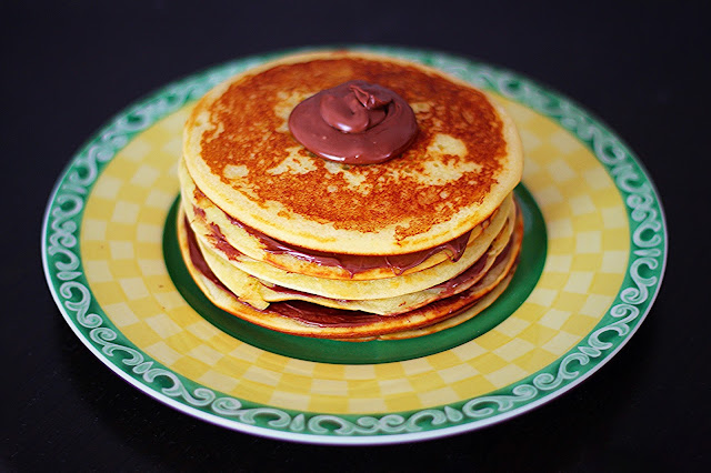 Συνταγή για Pancakes με Πραλίνα /  Praline Pancakes Recipe