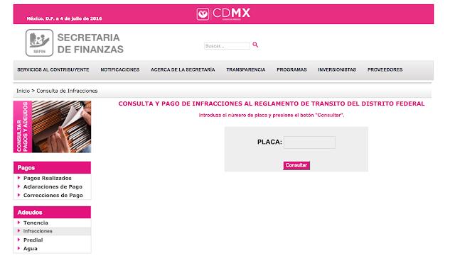 SCHOLASTICO te presenta los pasos para consultar y pagar las infracciones de tránsito en la Ciudad de México