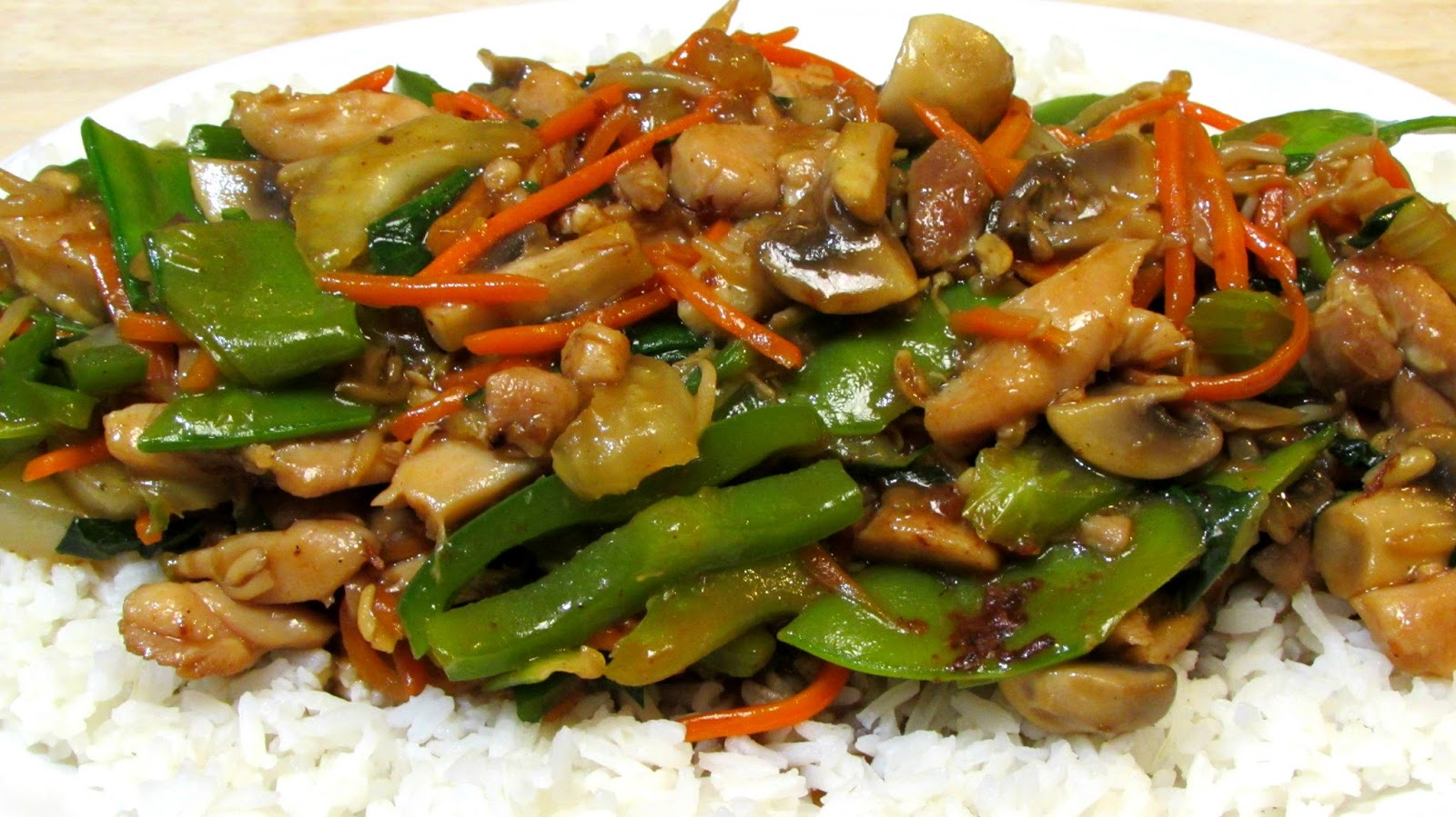 Recipe for chinese chop suey chicken