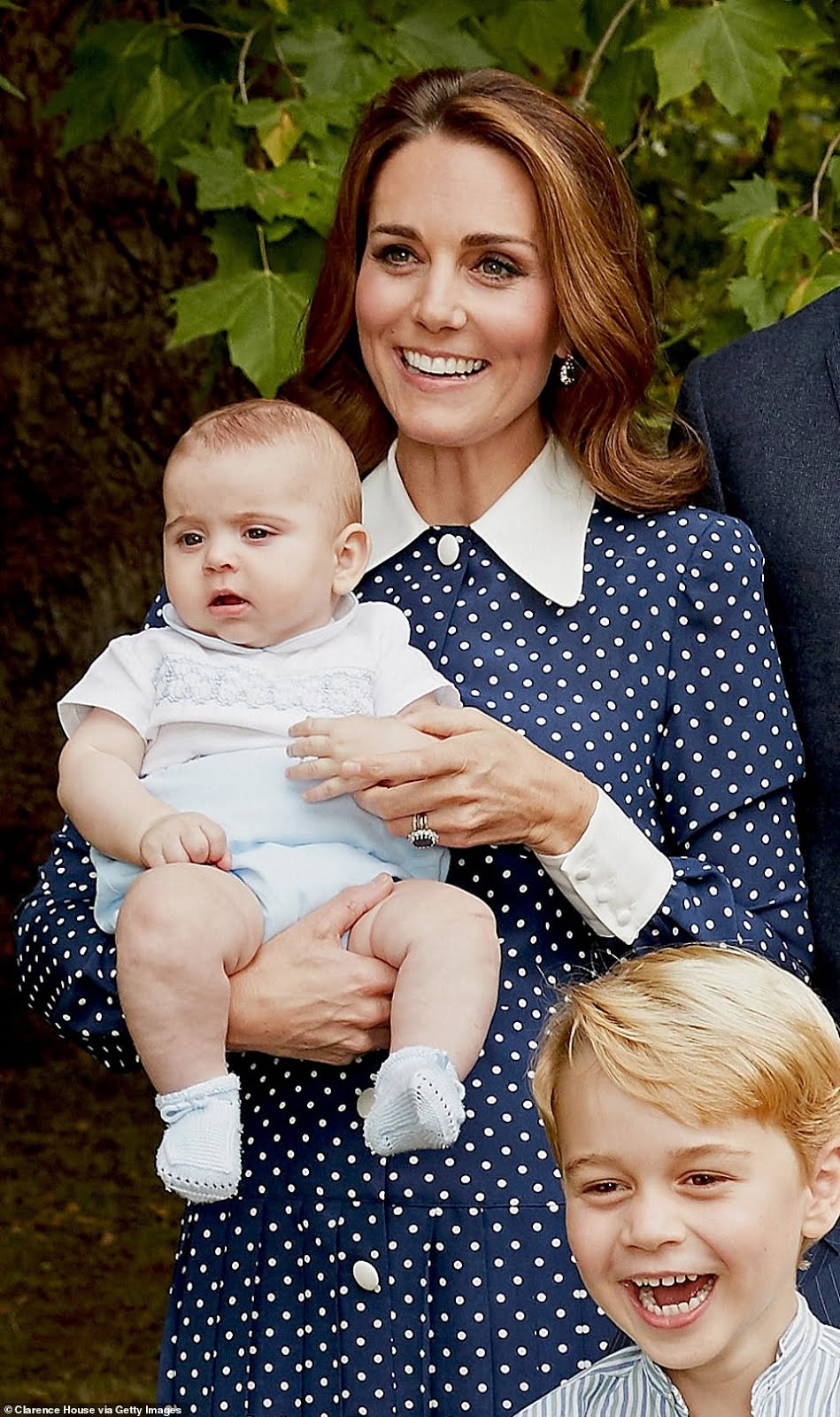 Prince Louis Makes His Debut in Family Photo