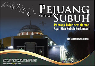 Pejuang Subuh Berjamaah Masjid GCA Bandung