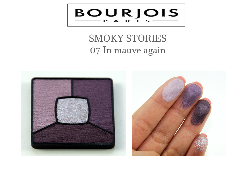 Bourjois SMOKY STORIES 07 In mauve again