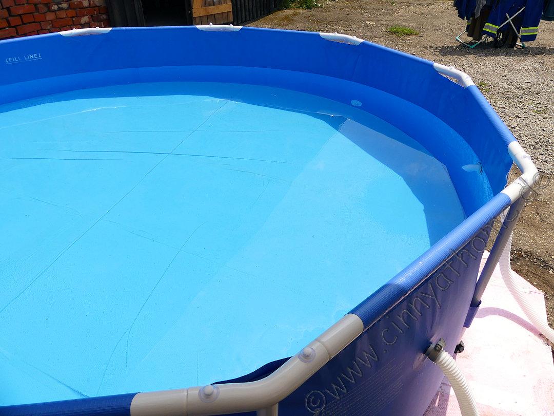 cinny@home: zu jeder zeit im eigenen pool von poolsana entspannen