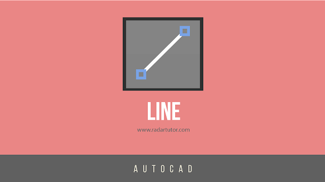 AutoCAD drawing tools: Line