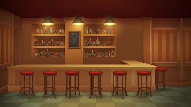 Bar  Background Art By Zeedox