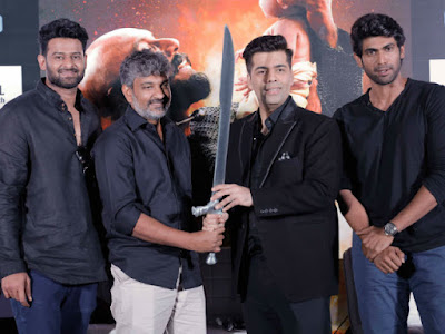 rajamouli-presents-katappas-sword-to-karan-johar