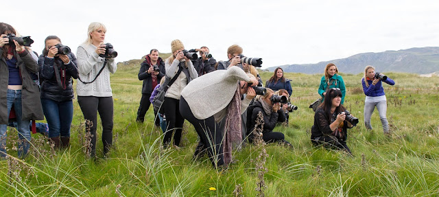 Photographers during the Workshop