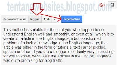 Cara Membuat Artikel Bahasa Inggris