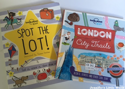 Travel books for children from Lonely Planet books