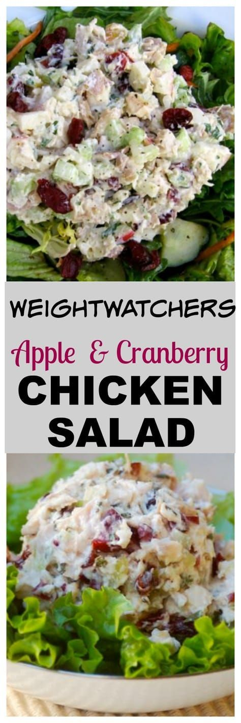 Healthy Chicken Salad with Apples
