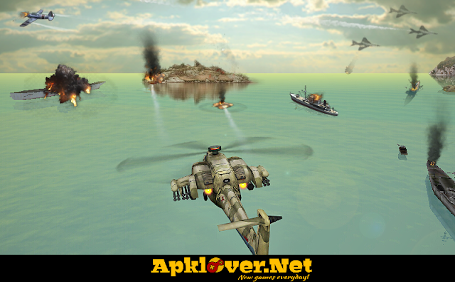 Gunship Strike 3D MOD APK unlimited money